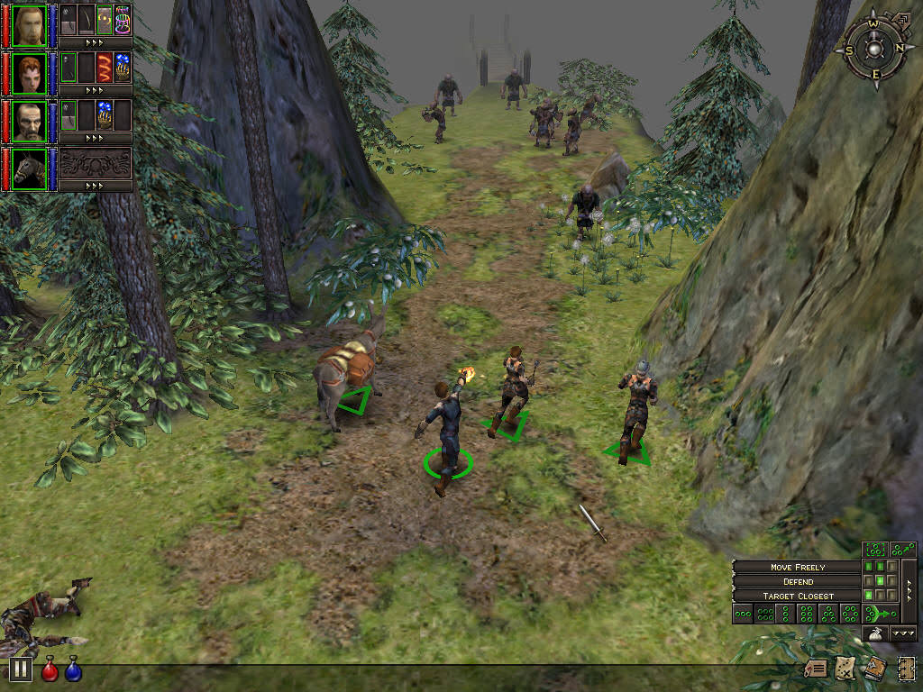 Dungeon Siege Screenshot 2